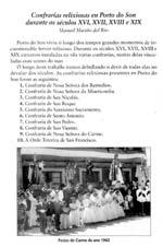 Confrarías relixiosas en Porto do Son durante os séculos XVI, XVII, XVIII e XIX
